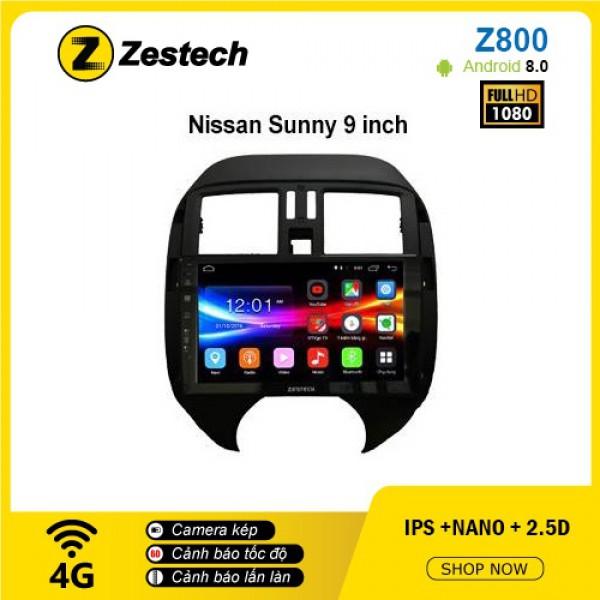 Màn hình ô tô DVD Android Z800 – Nissan Sunny
