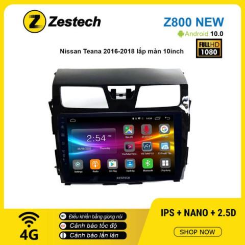 Màn hình ô tô DVD Android Z800 New – Nissan Teana 2016 – 2018