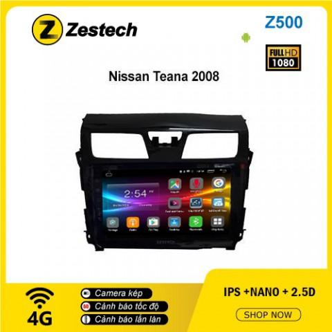 Màn hình ô tô DVD Android Z500 – Nissan Teana