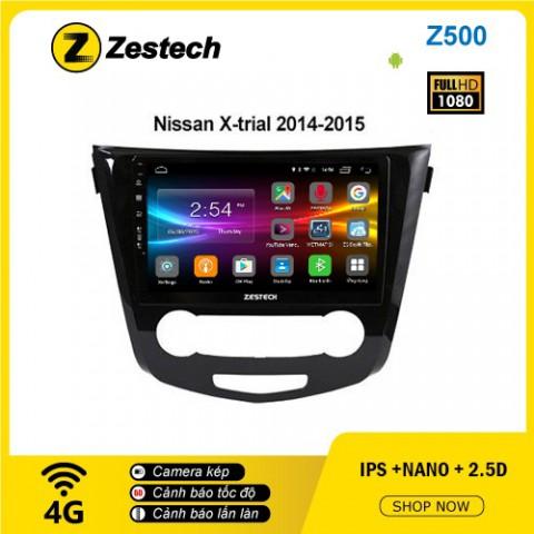 Màn hình ô tô DVD Android Z500 – Nissan Xtrial