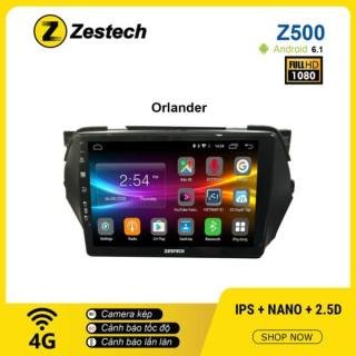 Màn hình ô tô DVD Android Z500 – Chevrolet Orlando