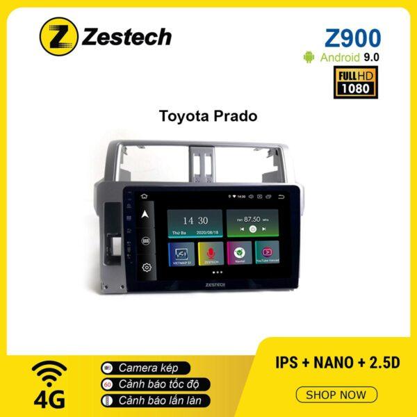 Màn hình ô tô DVD Android Z900 – Toyota Prado