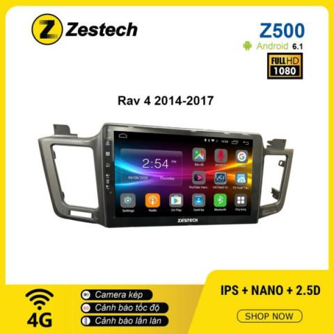 Màn hình ô tô DVD Android Z500 – Toyota Rav4