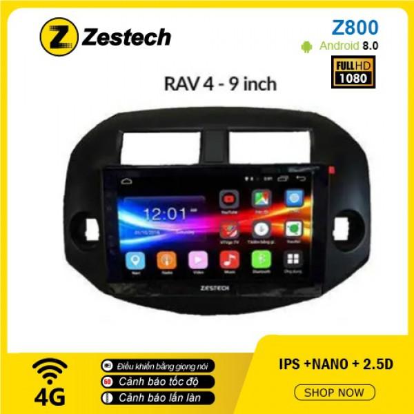 Màn hình ô tô DVD Android Z800 – Toyota RAV4
