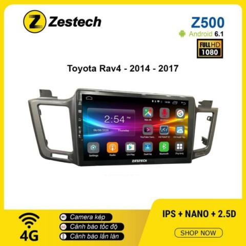 Màn hình ô tô DVD Android Z500 – Toyota RAV4 2014 – 2017