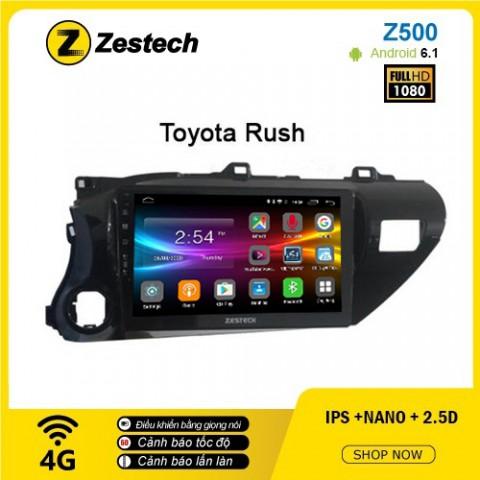 Màn hình ô tô DVD Android Z500 – Toyota Rush