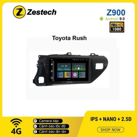 Màn hình ô tô DVD Android Z900 – Toyota Rush