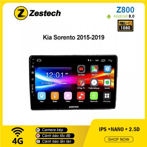 Màn hình ô tô DVD Android Z800 – Kia Sorento