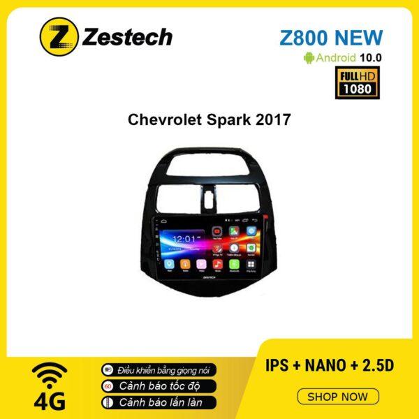 Màn hình ô tô DVD Android Z800 New – Chevrolet Spark 2017
