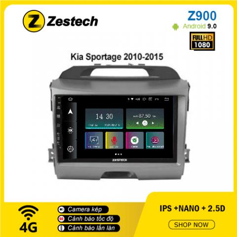 Màn hình ô tô DVD Android Z900 – Kia Sportage