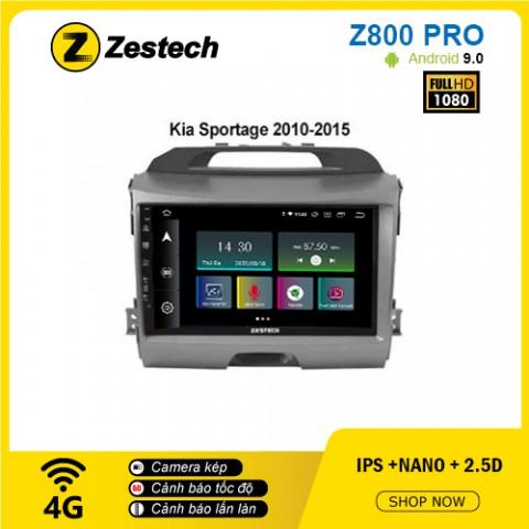 Màn hình ô tô DVD Z800 Pro – Kia Sportage