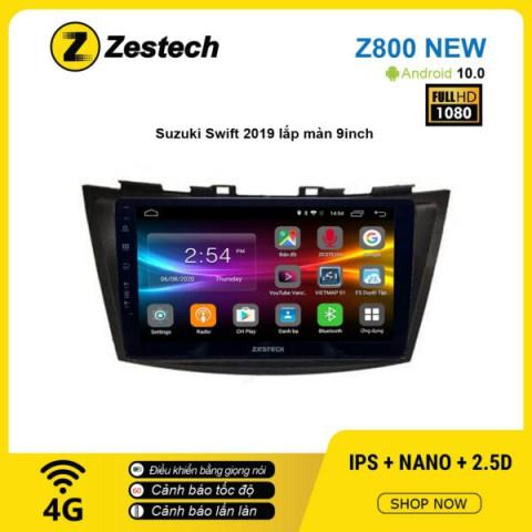 Màn hình ô tô DVD Android Z800 New – Suzuki Swift 2019