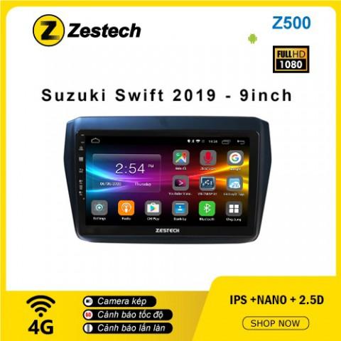 Màn hình ô tô DVD Android Z500 – Suzuki Swift