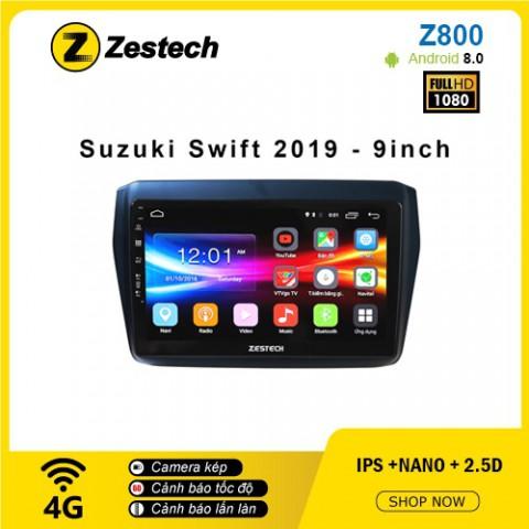 Màn hình ô tô DVD Android Z800 – Suzuki Swift