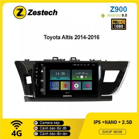 Màn hình ô tô DVD Android Z900 – Toyota Altis