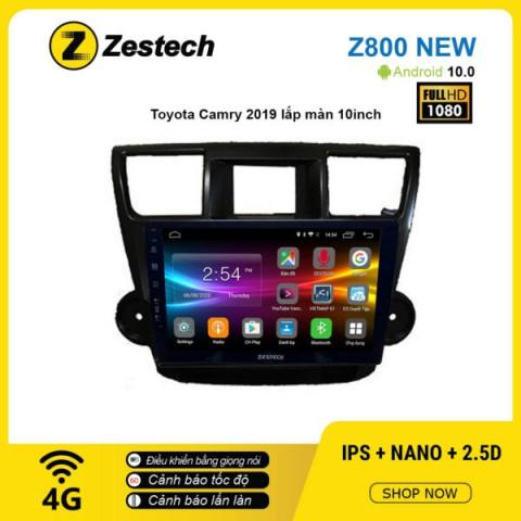 Màn hình ô tô DVD Android Z800 New – Toyota Camry 2019