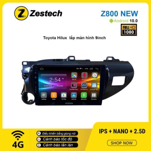Màn hình ô tô DVD Android Z800 New – Toyota Hilux
