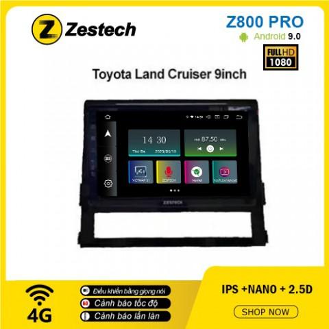 Màn hình ô tô DVD Z800 Pro – Toyota Land Cruiser