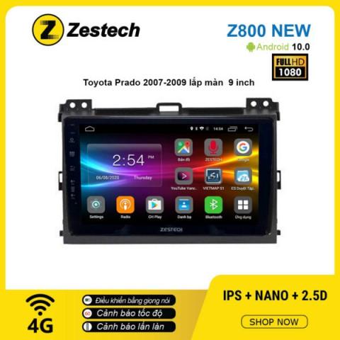 Màn hình ô tô DVD Android Z800 New – Toyota Prado 2007 – 2009