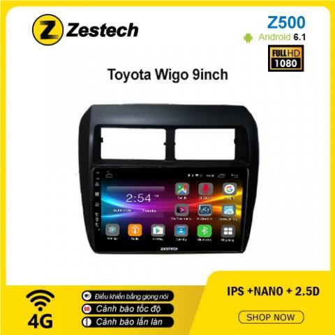 Màn hình ô tô DVD Android Z500 – Toyota Wigo