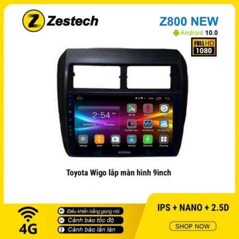 Màn hình ô tô DVD Android Z800 New – Toyota Wigo