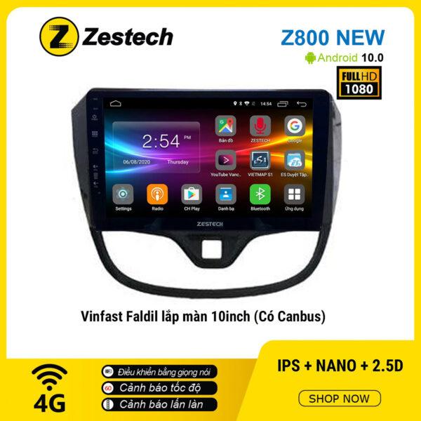 Màn hình ô tô DVD Android Z800 New – Vinfast Fadil có canbus
