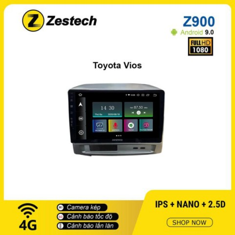 Màn hình ô tô DVD Android Z900 – Toyota Vios