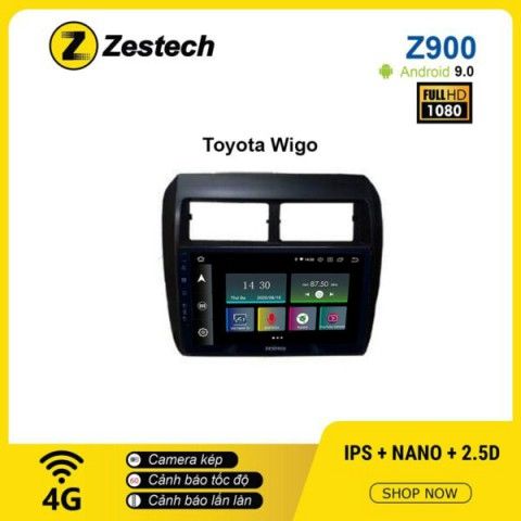 Màn hình ô tô DVD Android Z900 – Toyota Wigo