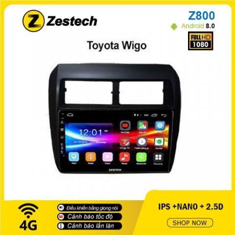 Màn hình ô tô DVD Android Z800 – Toyota Wigo