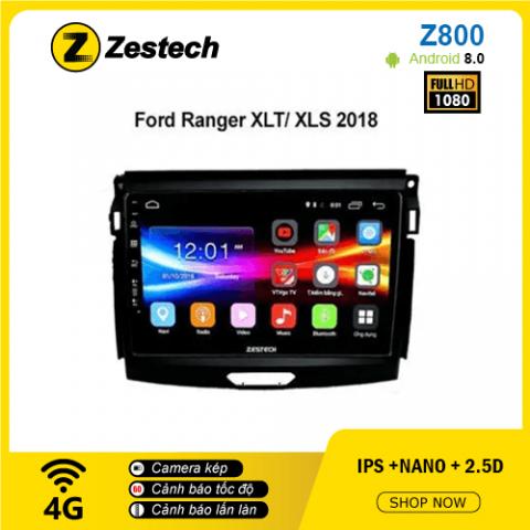 Màn hình ô tô DVD Android Z800 – Ford Ranger