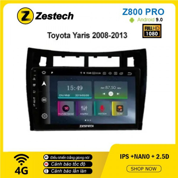 Màn hình ô tô DVD Z800 Pro – Toyota Yaris