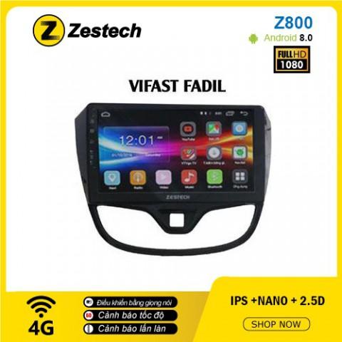 Màn hình ô tô DVD Android Z800 – Vinfast Fadil