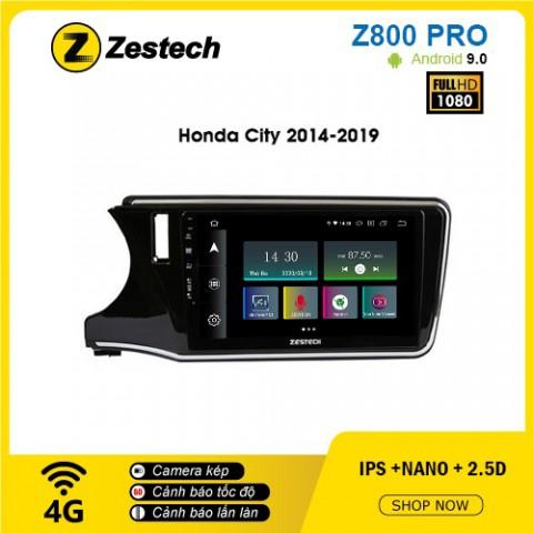 Màn hình ô tô DVD Z800 Pro – Honda City
