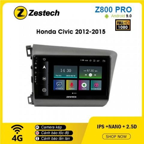 Màn hình ô tô DVD Z800 Pro – Honda Civic