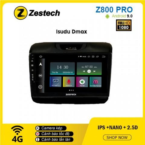 Màn hình ô tô DVD Z800 Pro – Isuzu Dmax