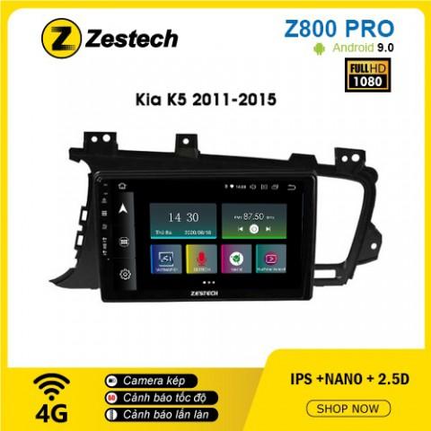 Màn hình ô tô DVD Z800 Pro – Kia K5 2011-2015