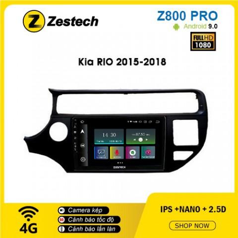 Màn hình ô tô DVD Z800 Pro – Kia Rio