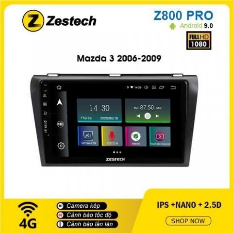 Màn hình ô tô DVD Z800 Pro – Mazda 3