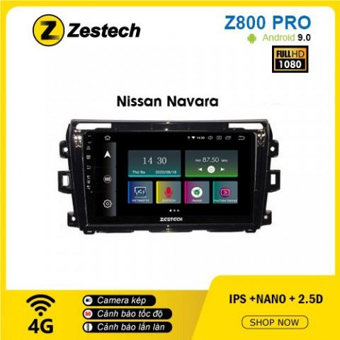 Màn hình ô tô DVD Z800 Pro – Nissan Navara