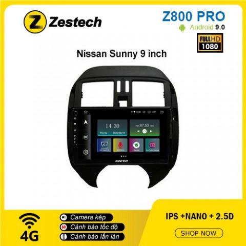 Màn hình ô tô DVD Z800 Pro – Nissan Sunny