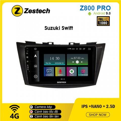 Màn hình ô tô DVD Z800 Pro – Suzuki Swift