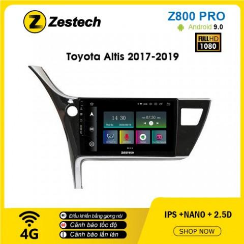 Màn hình ô tô DVD Z800 Pro – Toyota Altis