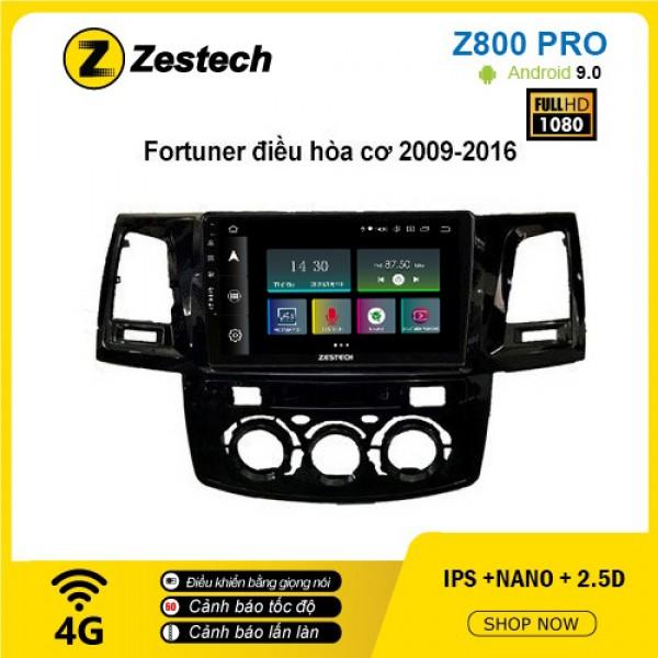 Màn hình ô tô DVD Z800 Pro – Toyota Fortuner
