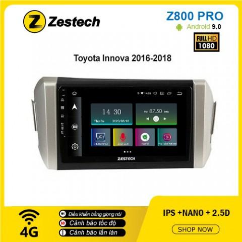Màn hình ô tô DVD Z800 Pro – Toyota Innova