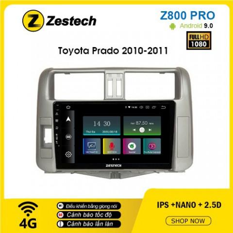 Màn hình ô tô DVD Z800 Pro – Toyota Prado