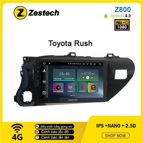 Màn hình ô tô DVD Android Z800 – Toyota Rush