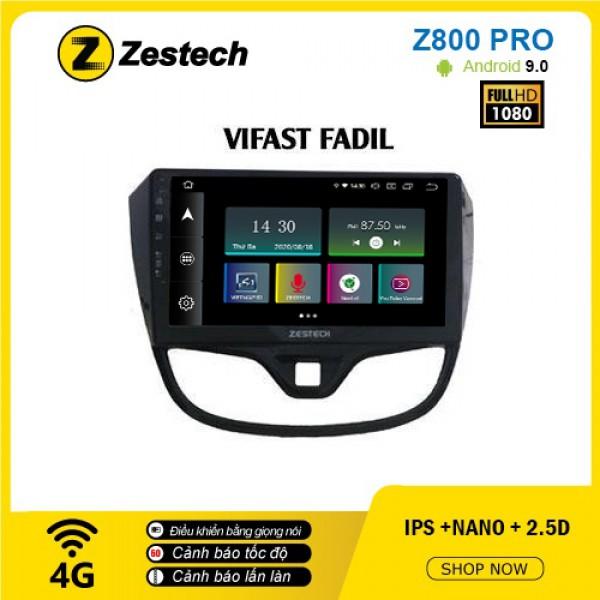 Màn hình ô tô DVD Z800 Pro – Vinfast Fadil