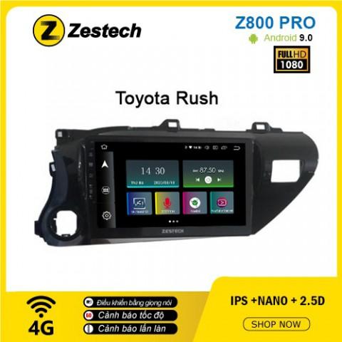 Màn hình ô tô DVD Z800 Pro – Toyota Rush