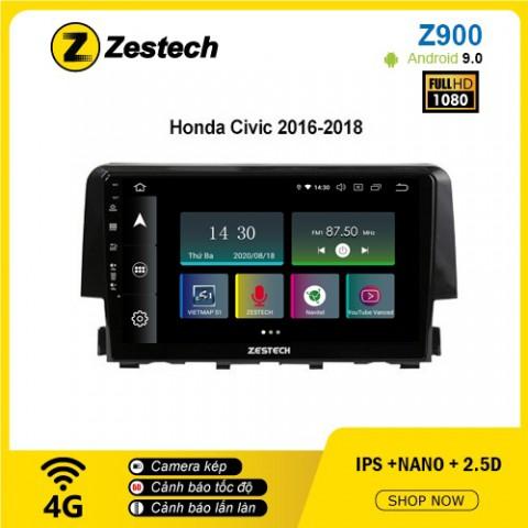 Màn hình ô tô DVD Android Z900 – Honda Civic