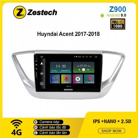 Màn hình ô tô DVD Android Z900 – Hyundai Accent